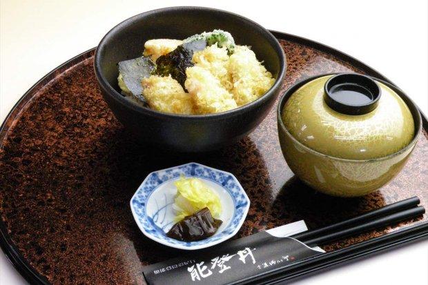蛸島のタコ天丼(能登丼) 1,100円